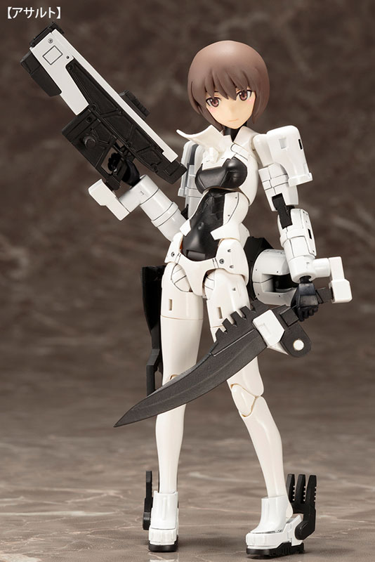 Megami Device - WISM Soldier Assault/Scout Plastic Model(Pre-order)メガミデバイス WISM・ソルジャー アサルト/スカウト プラモデルScale Figure