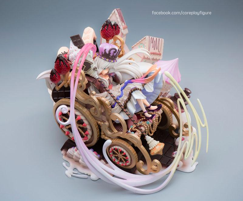 Merc Storia -Majutsushi to Suzu no Shirabe- Fukusei no Byakuya Franchir 1/8 Complete Figure(Pre-order)メルクストーリア -癒術士と鈴のしらべ- 覆世の白夜 フランシール 1/8 完成品フィギュアScale Figure