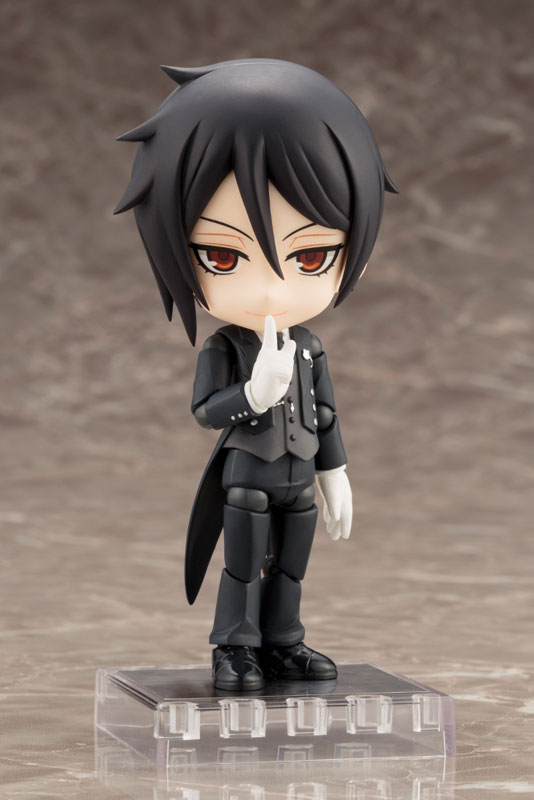 Cu-poche - Black Butler Book of the Atlantic: Sebastian Michaelis Posable Figure(Pre-order)キューポッシュ 黒執事 Book of the Atlantic セバスチャン・ミカエリス 可動フィギュアNendoroid
