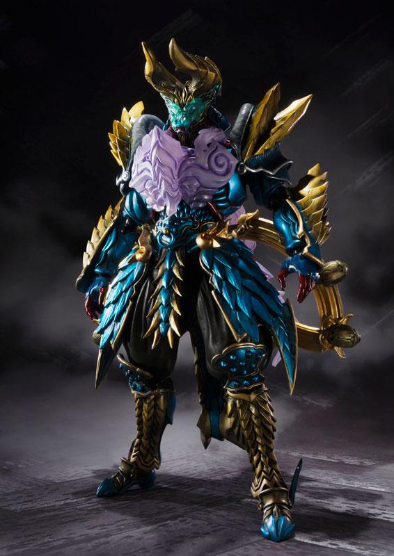 S.H. Figuarts Tamashii MIX - Monster Hunter: Jashin Kakusei Zinogre(Pre-order)S.H.フィギュアーツ 魂MIX モンスターハンター 邪神覚醒ジンオウガScale Figure