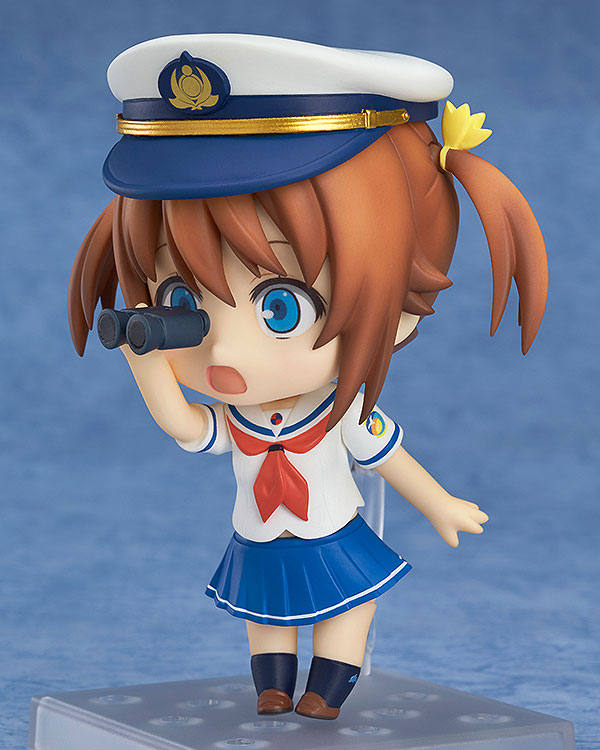 Nendoroid - High School Fleet: Akeno Misaki(Pre-order)ねんどろいど ハイスクール・フリート 岬明乃Nendoroid