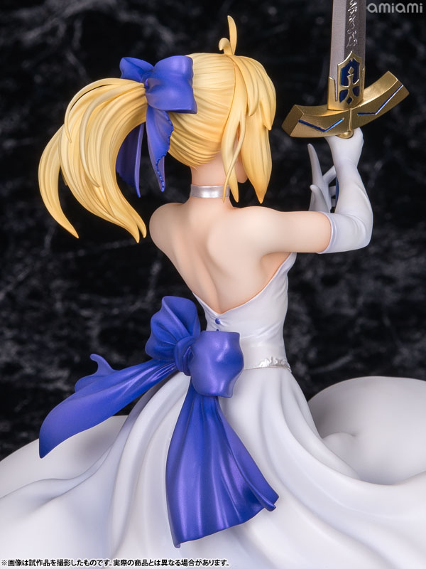 Fate/staynight [Unlimited Blade Works] - Saber White Dress Ver. 1/8 Complete Figure(Pre-order)Fate/staynight [Unlimited Blade Works] セイバー 白ドレスVer. 1/8 完成品フィギュアScale Figure