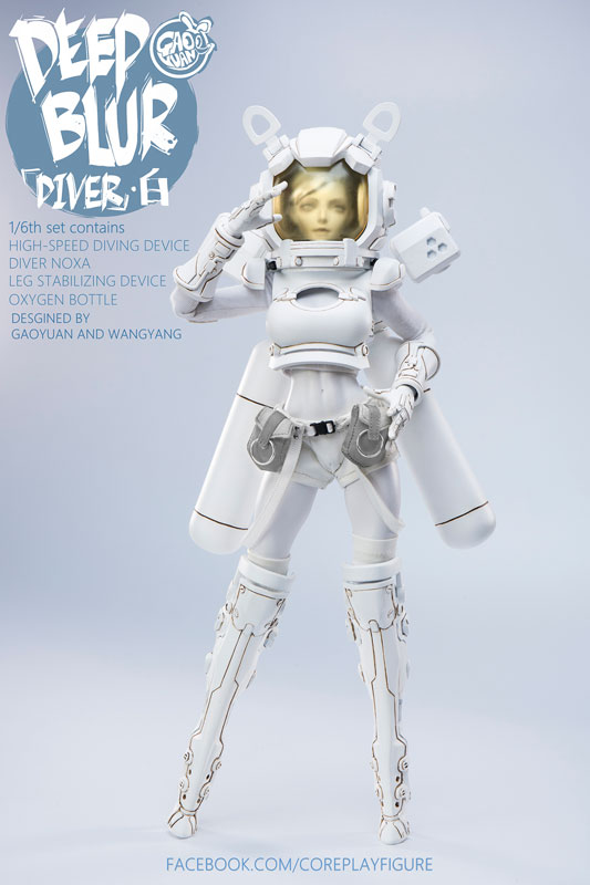 COREPLAY - Deepblur Diver FIGURE-023007_01
