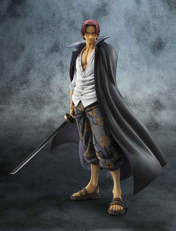 Portrait.Of.Pirates ONE PIECE NEO-DX Red Haired Shanks Complete Figure(Pre-order)Portrait.Of.Pirates ワンピースNEO-DX 赤髪のシャンクス 完成品フィギュアScale Figure