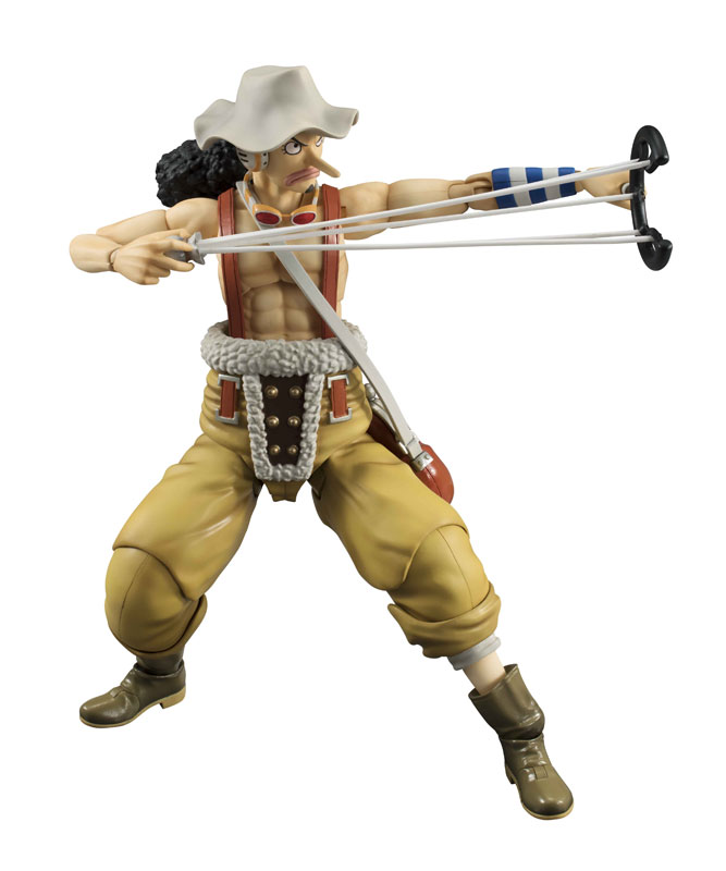 Variable Action Heroes - ONE PIECE: Usopp Action Figure(Pre-order)ヴァリアブルアクションヒーローズ ワンピース ウソップ アクションフィギュアScale Figure