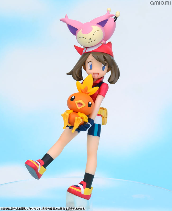 G.E.M. Series - Pokemon: May & Torchic & Skitty Complete Figure(Pre-order)G.E.M.シリーズ ポケットモンスター ハルカ&アチャモ&エネコ 完成品フィギュアScale Figure