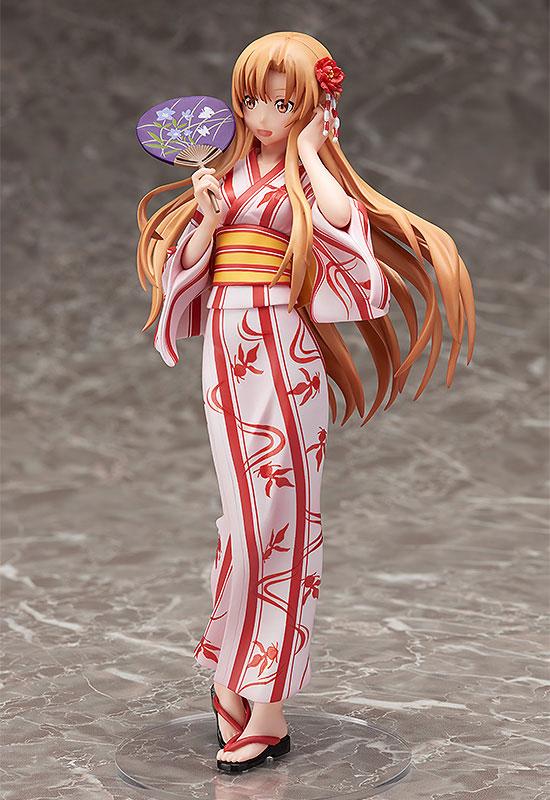 Sword Art Online II - Asuna Yuuki Yukata Ver. 1/8 Complete Figure(Pre-order)ソードアート・オンラインII 結城明日奈 浴衣Ver. 1/8 完成品フィギュアScale Figure