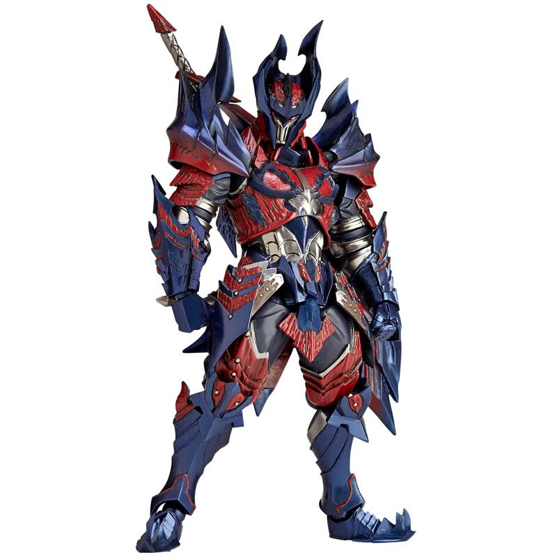 Vulcanlog 019 MonHunRevo Hunter Male Swordsman Glavenus Series(Pre-order)Vulcanlog(ヴァルカン-ログ) 019 モンハンリボ ハンター男剣士 ディノシリーズScale Figure