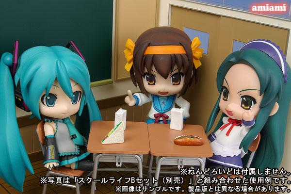 Nendoroid Play Set #01 School Life A Set(Pre-order)ねんどろいどプレイセット #01 スクールライフAセットNendoroid