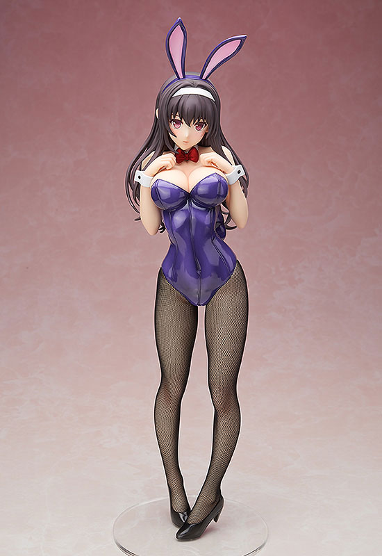 B-STYLE - Saekano: How to Raise a Boring Girlfriend Flat: Utaha Kasumigaoka Bunny Ver. 1/4 Complete Figure(Pre-order)B-style 冴えない彼女の育てかた♭ 霞ヶ丘詩羽 バニーVer. 1/4 完成品フィギュアScale Figure