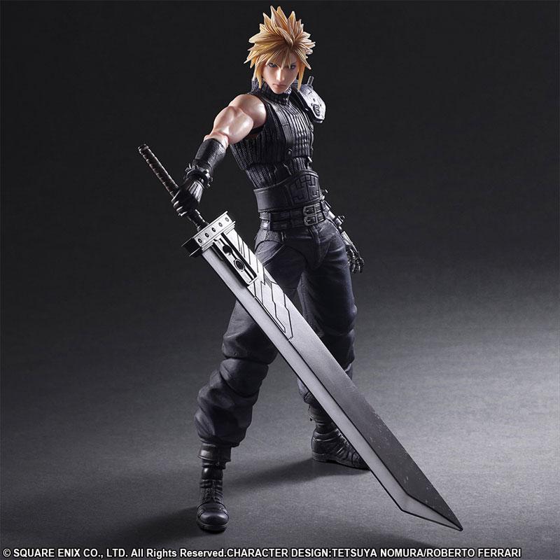 Play Arts Kai - Final Fantasy VII Remake No.1 Cloud Strife(Pre-order)プレイアーツ改 ファイナルファンタジーVII リメイク No.1 クラウド・ストライフScale Figure