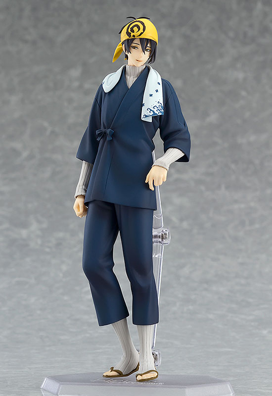 figFIX - Touken Ranbu Online: Mikazuki Munechika Uchiban ver. Complete Figure(Pre-order)figFIX 刀剣乱舞-ONLINE- 三日月宗近 内番ver. 完成品フィギュアFigma