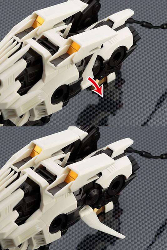 ZA(ZOIDS AGGRESSIVE) 1/100 ライガーゼロ アクションフィギュア