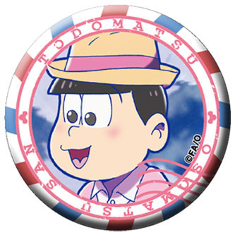 Osomatsu-san - Chara Badge Collection A 6Pack BOX(Pre-order)おそ松さん キャラバッジコレクション A 6個入りBOXAccessory