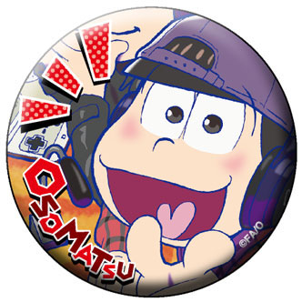 Osomatsu-san - Chara Badge Collection B 6Pack BOX(Pre-order)おそ松さん キャラバッジコレクション B 6個入りBOXAccessory