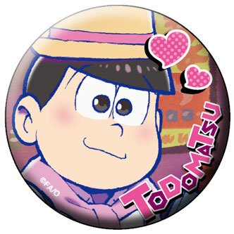 Osomatsu-san - Chara Badge Collection B 6Pack BOX(Pre-order)おそ松さん キャラバッジコレクション B 6個入りBOXAccessory
