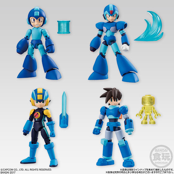 66 ACTION - Mega Man 10Pack BOX (CANDY TOY, Tentative Name)(Pre-order)66アクション ロックマン 10個入りBOX (食玩・仮称)Accessory