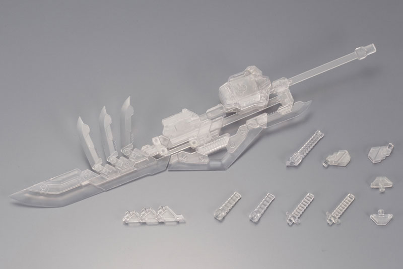 M.S.G Modeling Support Goods - Weapon Unit Assort 03. Wild Set Clear Ver.(Pre-order)M.S.G モデリングサポートグッズ ウェポンユニットアソート03 ワイルドセット クリアーVer.Accessory