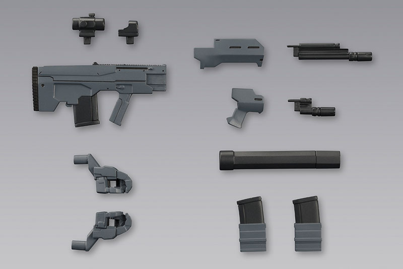M.S.G Modeling Support Goods - Weapon Unit 37. Assault Rifle Part.2(Pre-order)M.S.G モデリングサポートグッズ ウェポンユニット37 アサルトライフル2Accessory
