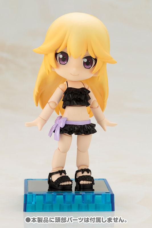 Cu-poche Extra - Frill Swimsuit Body (Black)(Pre-order)キューポッシュえくすとら フリル水着ボディ(くろ)Nendoroid