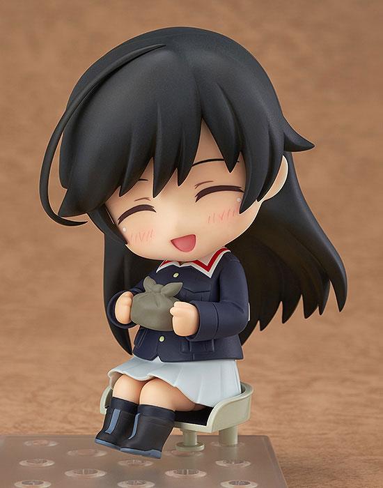 Nendoroid - Girls und Panzer: Hana Isuzu(Pre-order)ねんどろいど ガールズ&パンツァー 五十鈴華Nendoroid