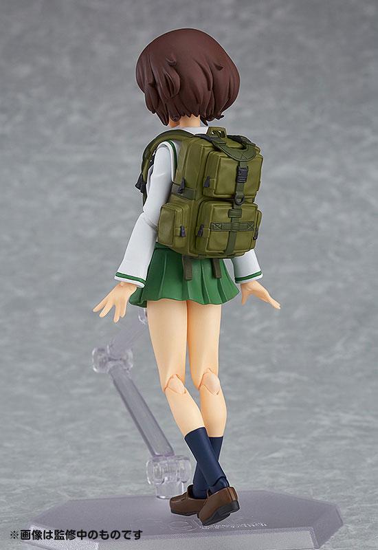 figma - Girls und Panzer the Movie: Yukari Akiyama School Uniform ver.(Pre-order)figma ガールズ&パンツァー 劇場版 秋山優花里 制服ver.Figma