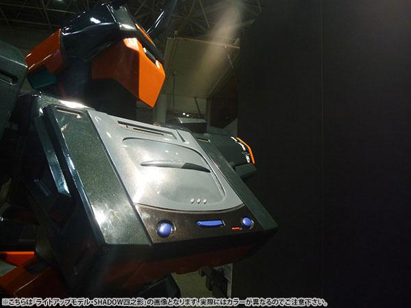 【完全受注生産】「電脳戦機バーチャロン」 20周年記念ヒューマンサイズ・テムジンモニュメント MONUMENT:MBV-04〈ライトアップモデル・1P機〉 半組み立て品【同梱不可】