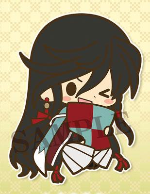 es Series nino Rubber Strap Collection - Touken Ranbu Online Kutsurogi ver. 10Pack BOX(Pre-order)esシリーズnino ラバーストラップコレクション 刀剣乱舞-ONLINE- くつろぎ ver. 10個入りBOXAccessory