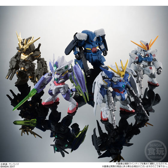 FW GUNDAM CONVERGE SELECTION [REAL TYPE COLOR] 10個入りBOX (食玩)