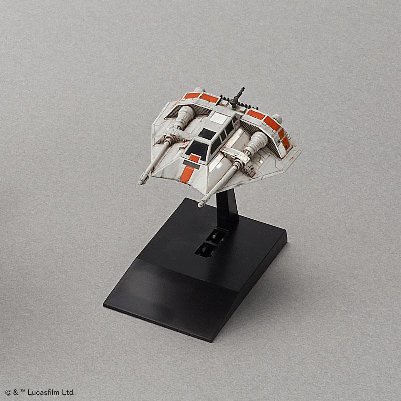 スター・ウォーズ 1/48 & 1/144 スノースピーダーセット プラモデル