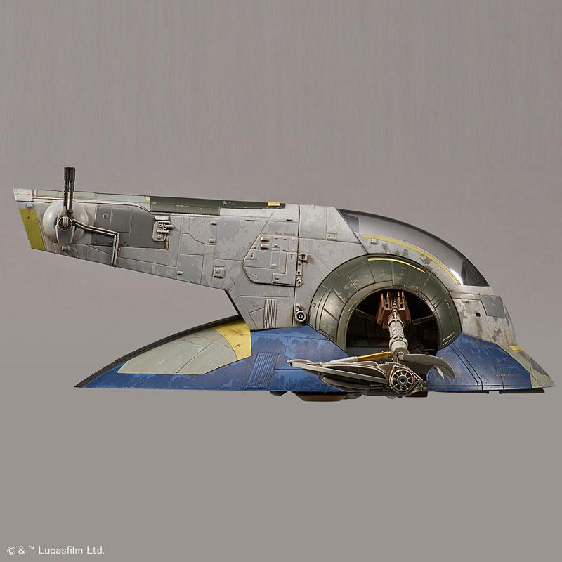スター・ウォーズ 1/144 スレーヴI ジャンゴ・フェット機 プラモデル