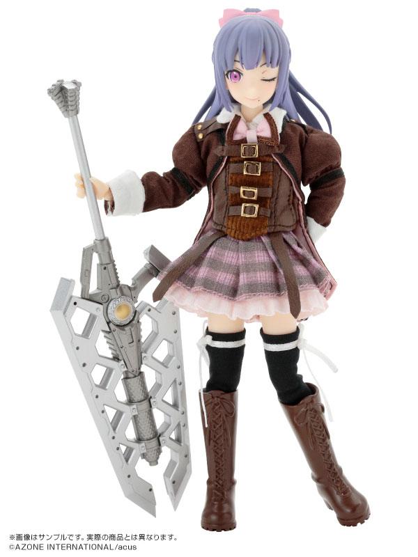 1/12 Assault Lily Series 033. Assault Lily Gaiden / Jeanne Sachie Fukuyama Complete Doll(Pre-order)1/12 アサルトリリィシリーズ 033 アサルトリリィ外伝 福山・ジャンヌ・幸恵 完成品ドールAccessory
