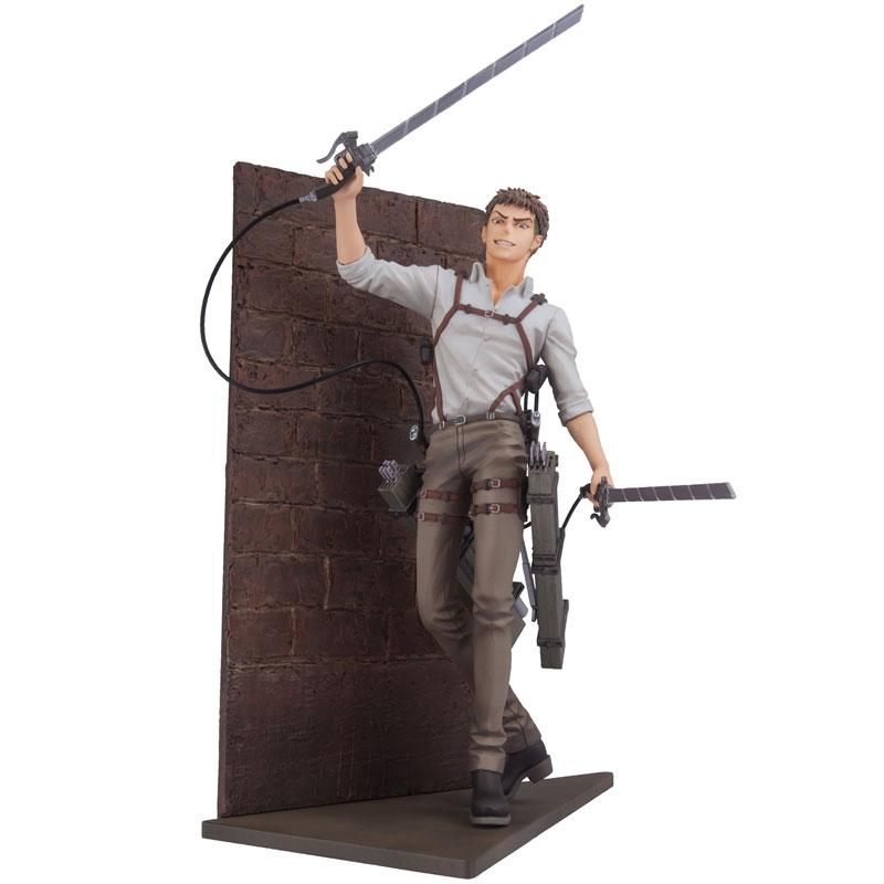 mensHdge technical statue No.31 進撃の巨人 ジャン・キルシュタイン 調査兵団Ver. 完成品フィギュア