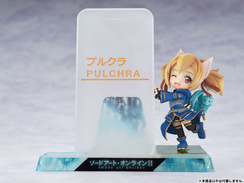 Smartphone Stand Bishoujo Character Collection No.09 Sword Art Online II - Silica PVC Pre-painted Complete Figure(Pre-order)スマホスタンド美少女キャラクターコレクション No.09 ソードアート・オンラインII シリカ PVC塗装済完成品Scale Figure