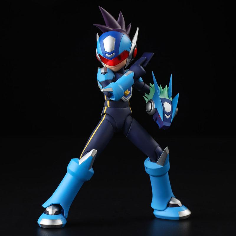 4 Inch Nel - Mega Man Star Force: Shooting Star Mega Man Action Figure(Pre-order)4インチネル 流星のロックマン シューティングスター・ロックマン アクションフィギュアScale Figure