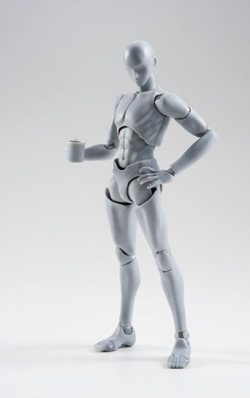 S.H. Figuarts Body-kun -Rihito Takarai- Edition DX SET (Gray Color Ver.)(Pre-order)S.H.フィギュアーツ ボディくん -宝井理人- Edition DX SET (Gray Color Ver.)Scale Figure