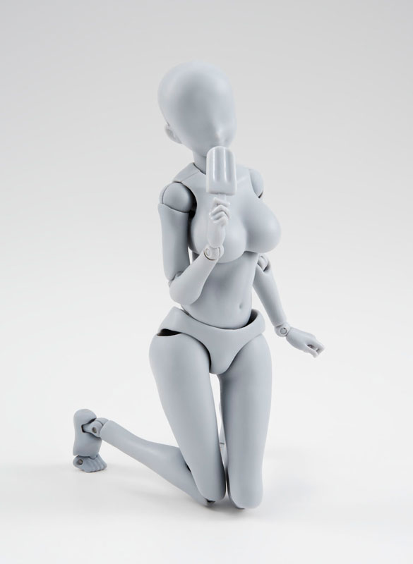 S.H. Figuarts - Body-chan -Kentaro Yabuki- Edition DX SET (Gray Color Ver.)(Pre-order)S.H.フィギュアーツ ボディちゃん -矢吹健太朗- Edition DX SET (Gray Color Ver.)Scale Figure