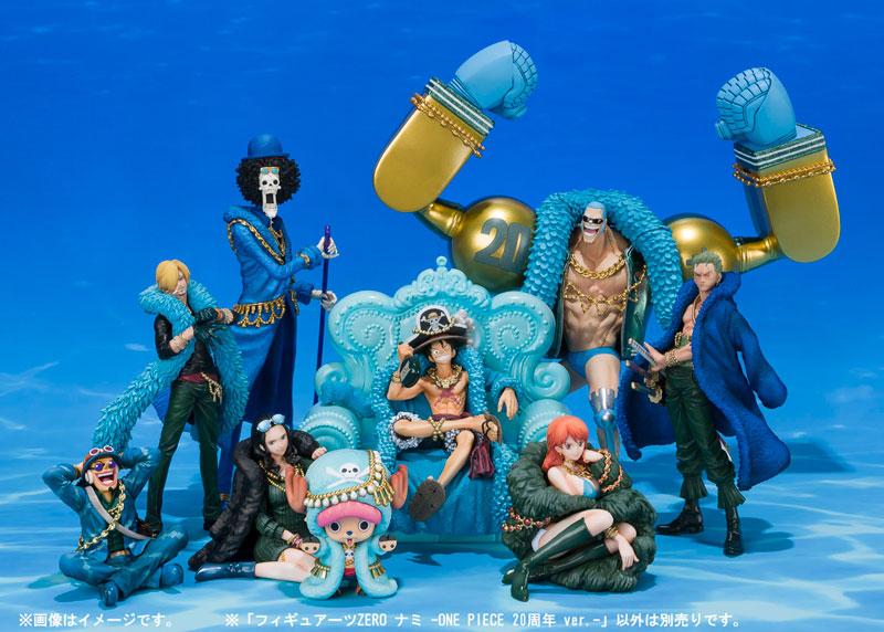 Figuarts ZERO - Nami -ONE PIECE 20th Anniversary ver.-
