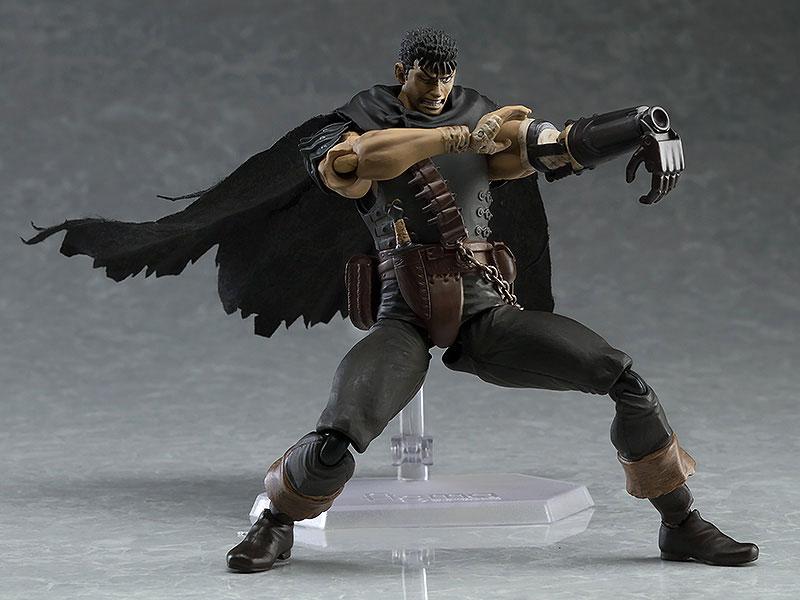 figma - Berserk: Guts Black Swordsman ver. Repaint Edition(Pre-order)figma ベルセルク ガッツ 黒い剣士ver. リペイントエディションFigma