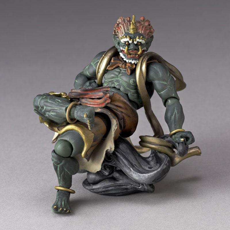 KT Project KT-EX04 Takeya Style Jizai Okimono Fuujin (Green)(Pre-order)KT Project KT-EX04 タケヤ式自在置物 風神(緑)Scale Figure