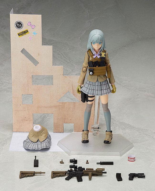 figma - LittleArmory: Rikka Shiina(Pre-order)figma リトルアーモリー 椎名六花Figma