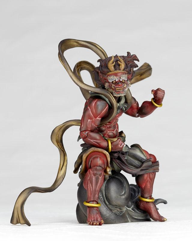 KT Project KT-EX05 Takeya Style Jizai Okimono Raijin (Red)(Pre-order)KT Project KT-EX05 タケヤ式自在置物 雷神(赤)Scale Figure