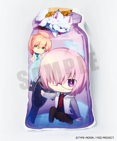 CharaToria Cushion - Fate/Grand Order: Shielder/Mashu Kyrielite(Released)きゃらとりあクッション Fate/Grand Order シールダー/マシュ・キリエライトAccessory