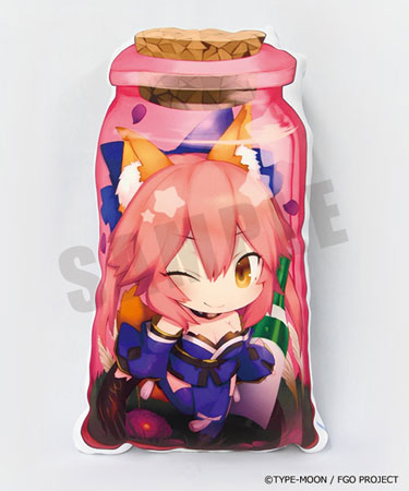 CharaToria Cushion - Fate/Grand Order: Caster/Tamamo no Mae(Released)きゃらとりあクッション Fate/Grand Order キャスター/玉藻の前Accessory