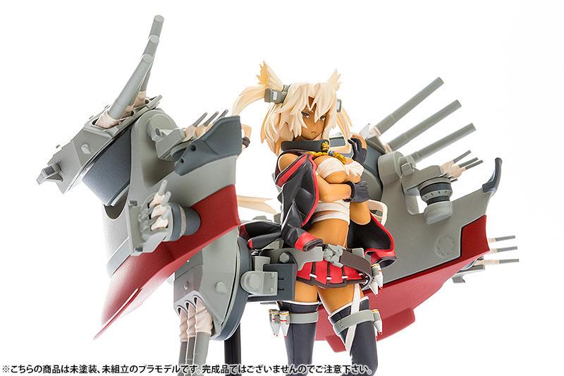 PLAMAX MF-18 minimum factory 艦隊これくしょん -艦これ- 武蔵 1/20 プラモデル[マックスファクトリー]