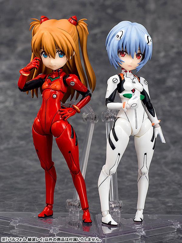 Parfom - Rebuild of Evangelion: Rei Ayanami Posable Figure(Pre-order)パルフォム ヱヴァンゲリヲン新劇場版 綾波レイ 可動フィギュアScale Figure