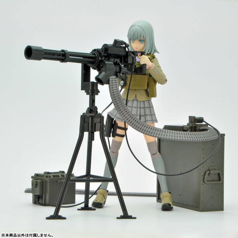 LittleArmory [LD012] 1/12 M134 Mini Gun Type (Stationary) Plastic Model(Pre-order)リトルアーモリー [LD012] 1/12 M134ミニガンタイプ(設置型) プラモデルScale Figure