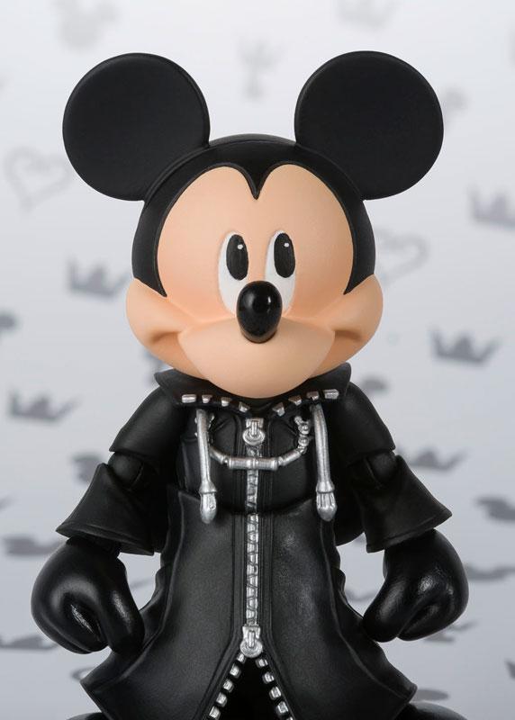S.H. Figuarts - King Mickey (KINGDOM HEARTS II)(Pre-order)S.H.フィギュアーツ キング ミッキー(KINGDOM HEARTS II)Scale Figure