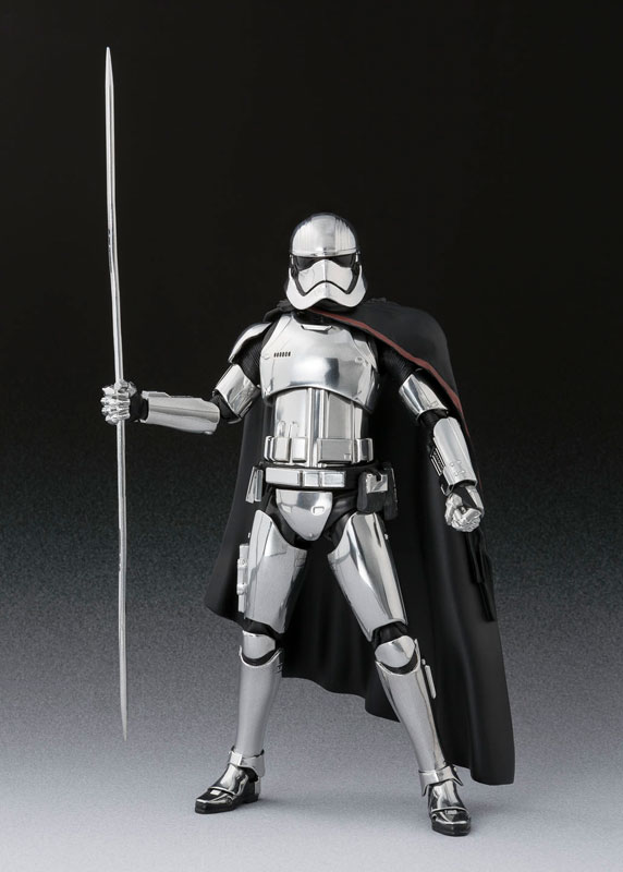 S.H. Figuarts - Captain Phasma (The Last Jedi)(Pre-order)S.H.フィギュアーツ キャプテン・ファズマ(THE LAST JEDI)Scale Figure