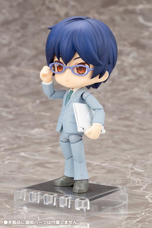 Cu-poche Extra - Suit Body (Gray) Posable Figure(Pre-order)キューポッシュえくすとら スーツボディ(グレー) 可動フィギュアNendoroid